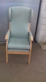 Reading Chair Ex Care Home