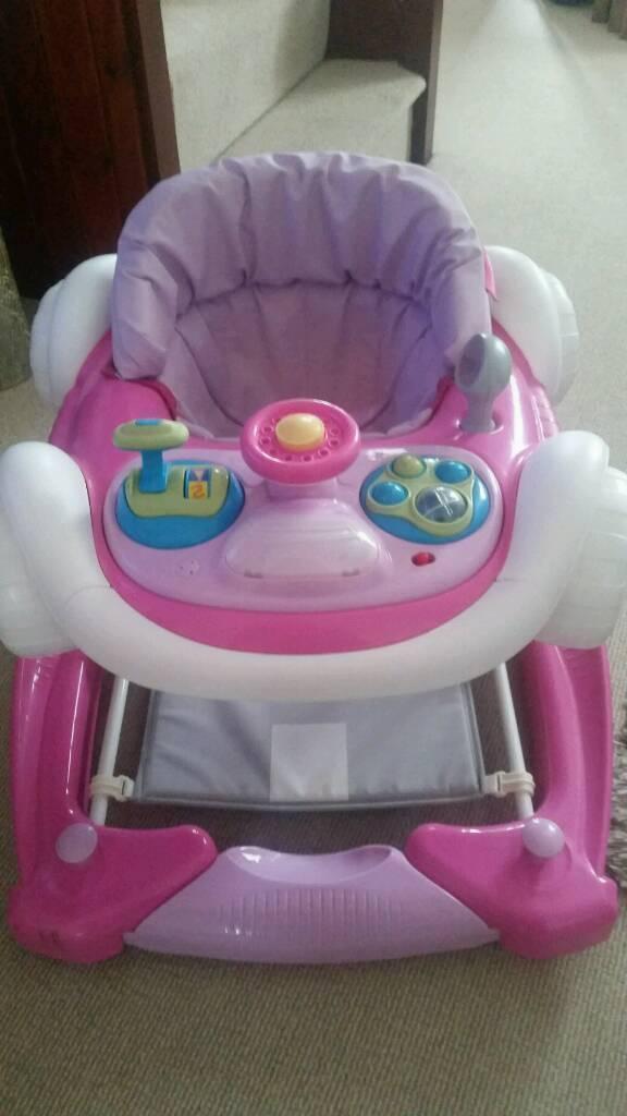 Car style baby Walker