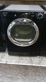 CANDY 9KG DIGITAL CONDENSER TUMBLE DRYER IN BLACK
