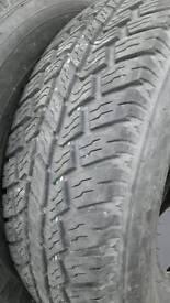 Jeep / van tyres 4x4