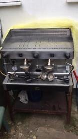 Professional coffe machine -Ala si Vittoria