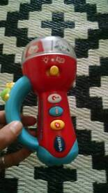 Vtech spin and learn colours torch toy