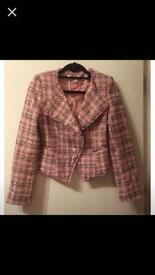 Designer style tweed jacket