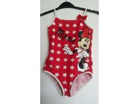 Minnie Mouse Swimsuit - Age 5
