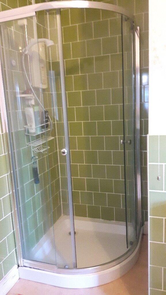 Quadrant shower tray & enclosure | in Sherwood, Nottinghamshire ...