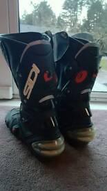 Sidi motorcycle boots size 12