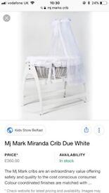 MJ MARKS CRIB
