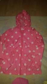 Next girls Raincoat