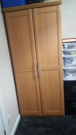 2 door wardrobe like new