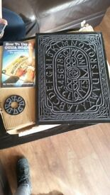 Black ouija board with booklet on how to use