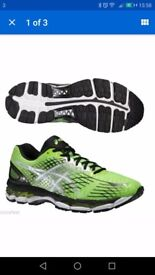 Asics gel nimbus 17 mens running trainers. SIZE 9