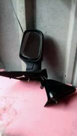 Fiesta mk6 door mirrow & casing