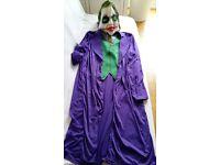 3 NEW BATMAN'S VILLAINS COSTUMES: JOKER, BANE, THE RIDDLER