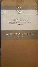 Brand new ventian wide slat blind