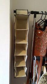 Hanging storage unit