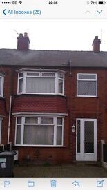 House to rent - Available immediately- Newly decorated and new carpets.