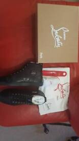 Christian Louboutin Black High Tops Euro 44