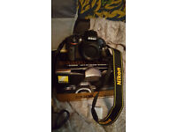 Nikon D3300 DSLR camera, plus lens's and extra's. As new.