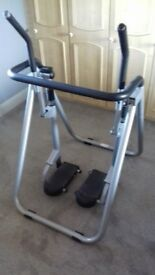 CARL LEWIS FITNESS TRAINER FOLDABLE AIR WALKER USED £25 COLLECT NORWICH NR14