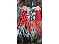 Harley Quinn dress. Size 12-14. Worn once at Halloween