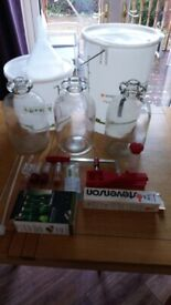 Wine making equipment/home brew