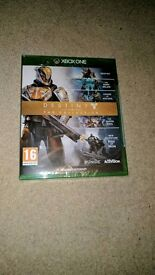 Destiny collection xbox one new and sealed