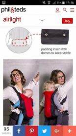 Phil and teds baby carrier