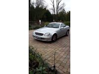 Mercedes SLK 200K Convertible, low mileage, MOT done on 12th Oct 2016, Full Service History