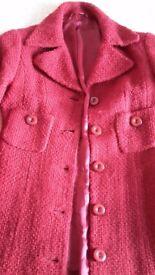 Stylish ladies winter wool coat from HOBBS size UK8/36