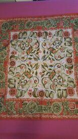 Classic Roman vintage scarf