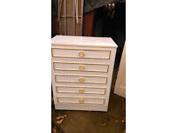 large 5 drawer chest