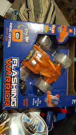 Flashing Warrier remote car brand new in box