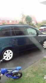 Vauxhall zafira 56 reg 1.6 petrol 6 months mot