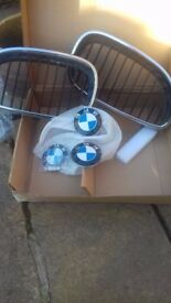 BMW 5 series front grill and badges