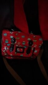 cupcake pattern school bag