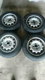 For sale steelies wheels