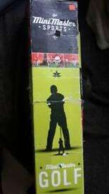 Mini golf toy