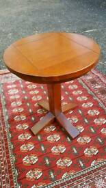 Solid wood bistro table