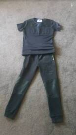 Boys sonneti trackies and top
