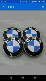 BMW wheel caps 68mm brand new can post