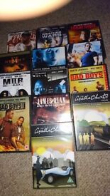 Selection of DVDs 25 in box