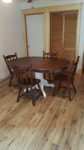 Gorgeous refurbished table!