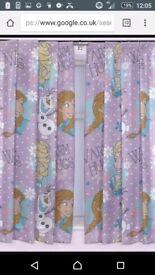Disney Frozen Girls Curtains