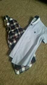 2 boys age 6-7 years smart shirts