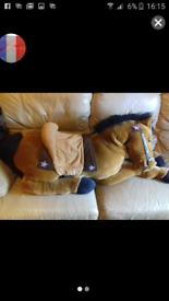 3feet long soft toy horse