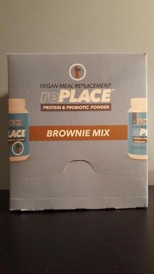 Truvision Replace Protein   Probiotic Powder Vegan Meal Replacement Brownie Mix