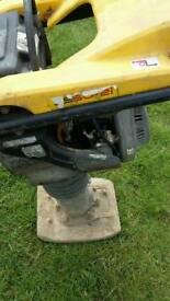 Petrol whacker wacker plate