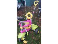 Toddler outdoor push bike