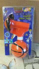 Water Spray Fan. 50p each