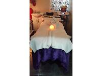 Reflexology, Reiki, Crystals, Aromatherapy, Hopi ear, Massage: Swedish, Bamboo, Lava shell, Aroma